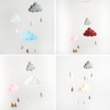 Móviles nubes y gotas