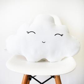 Cojín nube sonriendo