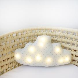 Lámpara cojín nube