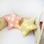 Cojín lámpara estrella