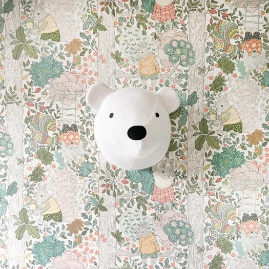 Cabeza de oso