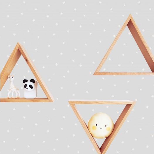 Set de 3 repisas triángulo Thibault