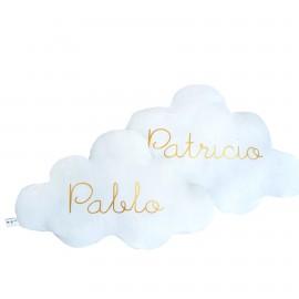 Cojín nube nombre